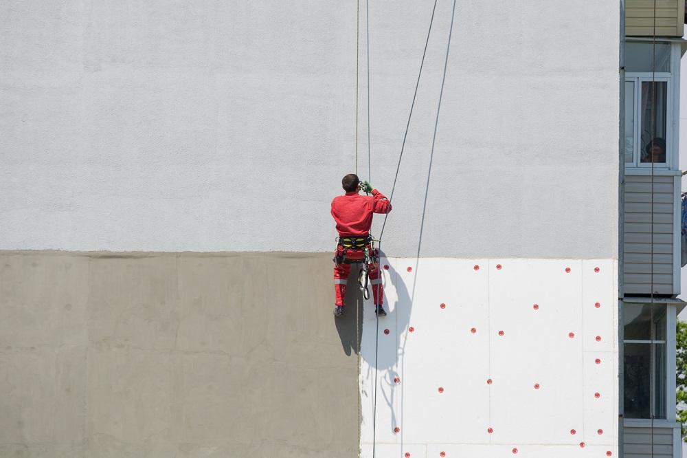 Malowanie elewacji na wysokości